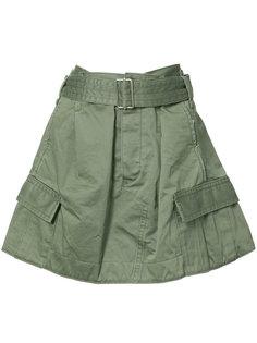 юбка в стиле милитари Marc Jacobs