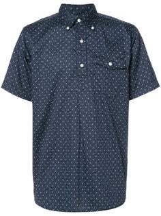 рубашка с короткими рукавами в горох Engineered Garments