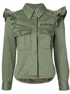 куртка с оборками на плечах Marc Jacobs