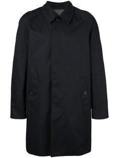 однобортное пальто  Sunspel