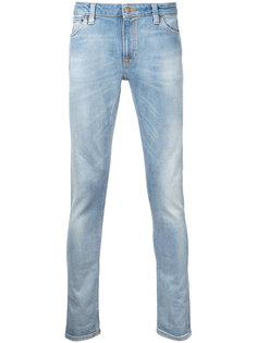 джинсы скинни Lin Clean Stone Nudie Jeans Co