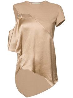 асимметричное платье с оборками Esteban Cortazar