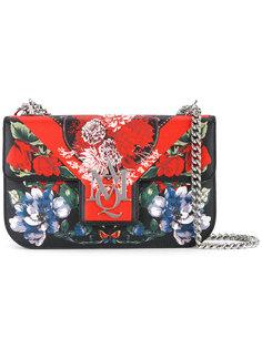 сумка на плечо с цветочным принтом Alexander McQueen