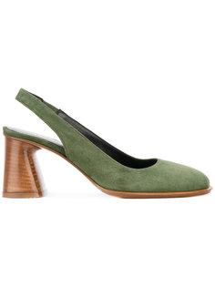 туфли-лодочки на среднем каблуке и ремешком через пятку Premiata