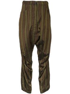 брюки в полоску Rundholz