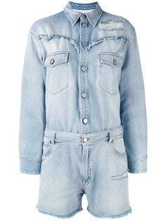джинсовый комбинезон Mm6 Maison Margiela