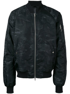куртка-бомбер  с принтом Ultra Odeur