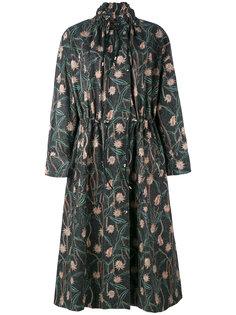 пальто с цветочным принтом  Isabel Marant