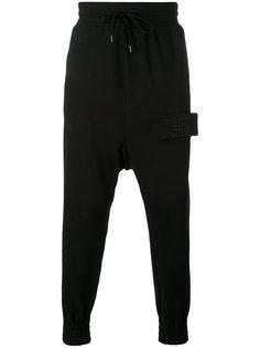 спортивные брюки с заниженной проймой Odeur