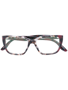 square frame glasses Prada Eyewear