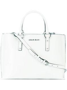 сумка с фирменной бляшкой Armani Jeans