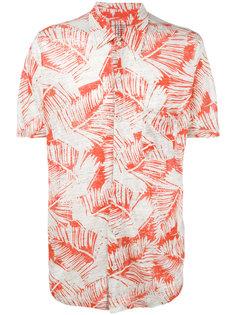 рубашка с рисунком из пальмовых листьев Majestic Filatures