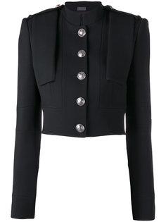 укороченный пиджак в стиле милитари Alexander McQueen