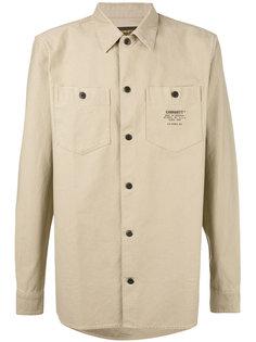 рубашка с принтом на кармане Carhartt