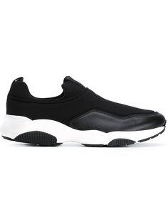 кроссовки с контрастной подошвой Salvatore Ferragamo