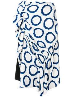 юбка с принтом J.W.Anderson