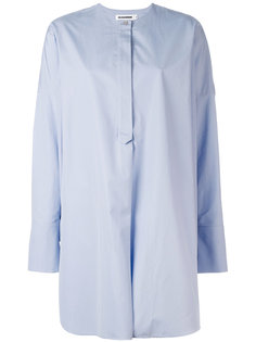 рубашка без воротника Jil Sander
