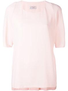 блузка со складками сзади  Alberto Biani
