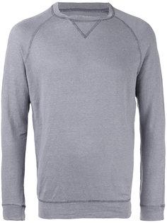 свитер с контрастной строчкой  Majestic Filatures