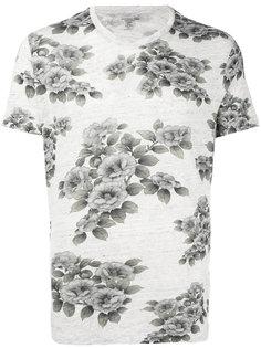 футболка с цветочным принтом  Majestic Filatures
