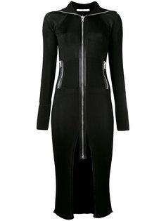 платье-миди на молнии Givenchy