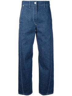 джинсы с перекрученным швом Lemaire
