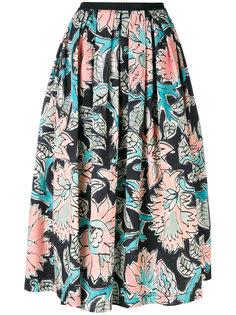 пышная юбка с цветочным принтом Antonio Marras