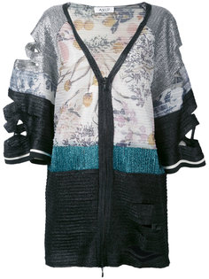 cutout patchwork jacket Aviù