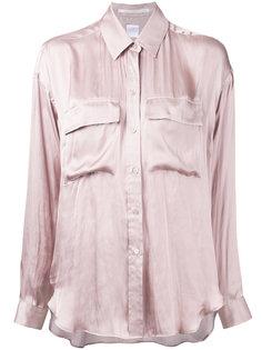 рубашка с карманами с клапанами  Cityshop