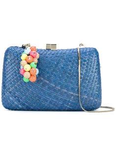 плетеная сумка на плечо Serpui