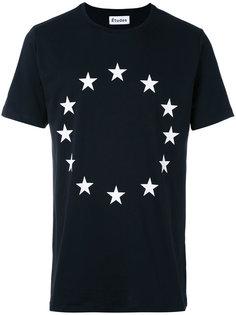 футболка с принтом звезд Études