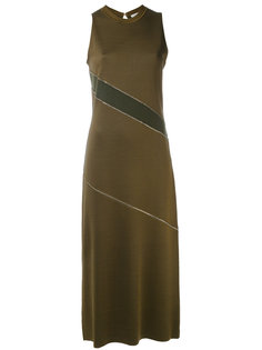 metallic detail dress Nina Ricci
