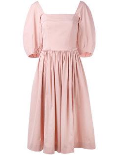 расклешенное платье Blumarine