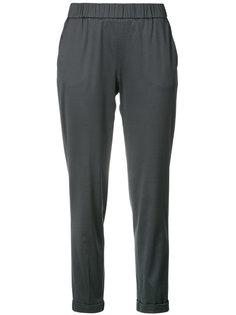укороченные зауженные брюки  Fabiana Filippi