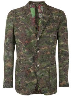 camouflage print blazer Gabriele Pasini