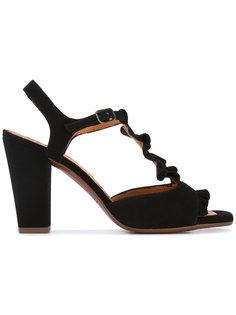 ruffle mid heel sandals Chie Mihara