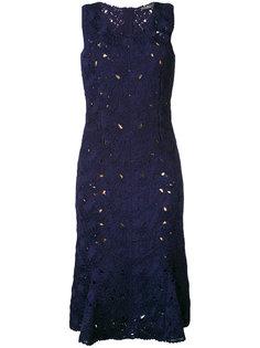 кружевное платье Salvatore Ferragamo