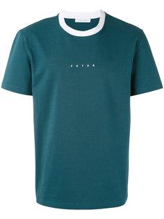 футболка с логотипом  Futur