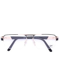 очки с прямоугольной оправой Cazal
