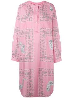 платье-рубашка с принтом Natasha Zinko