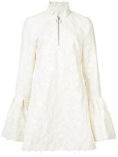 приталенное платье с расклешенными рукавами Marquesalmeida