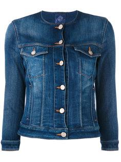 джинсовая куртка на пуговицах Jacob Cohen