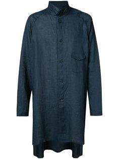 длинная куртка рубашечного типа Yohji Yamamoto