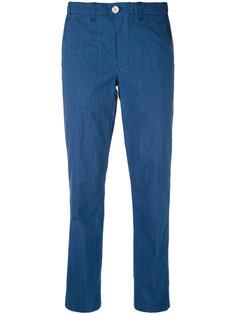 брюки стандартного кроя с эластичным поясом Julien David