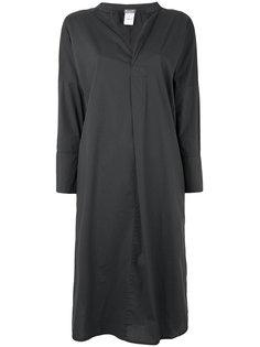 платье-рубашка с V-образным  вырезом  Kristensen Du Nord