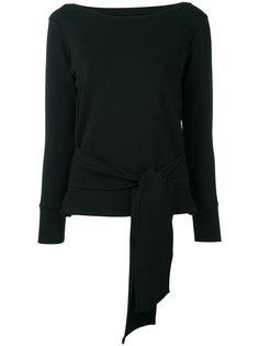 трикотажная блузка с вырезом-лодочкой Eleventy