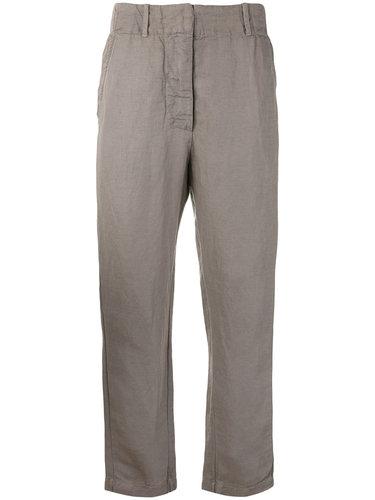 брюки свободного кроя с эффектом помятости Kristensen Du Nord