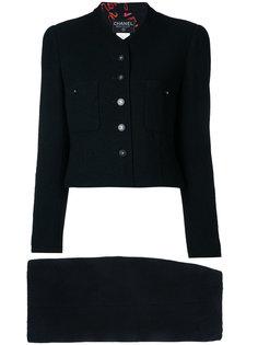 костюм с длинными рукавами Chanel Vintage