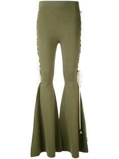 расклешенные брюки Puma