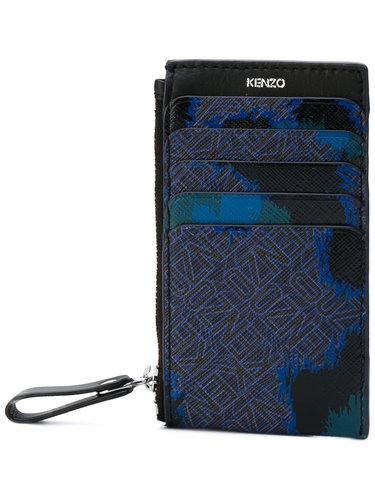 кошелек с абстрактным принтом Kenzo